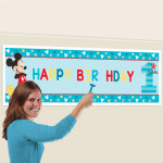 Giant Banner Mickey 1st Bday