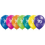 Balloons Age 70 Tropical
