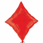 Mylar Red Diamond