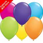 6 Assorted Balloons