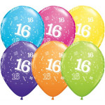 Age 16 Assorted Balloons