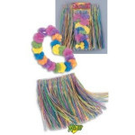 Childrens Luau Skirt & Lei Set