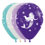 25 Mermaid Balloons