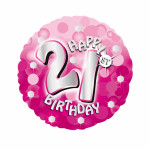 33 Sparkle Pink 21st