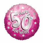 72 A Sparkle Pink 50th