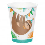 Cups Sloth Party
