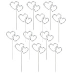 12 Heart Cake Picks