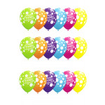 25 Well Done Dots Balloons