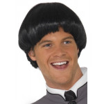 Adult 60s Bowl Wig Black