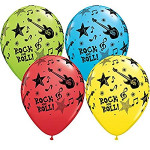 25 Rock & Roll Balloons
