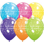 25 Welcome Home Balloons