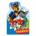 Thank You Cards Paw Patrol