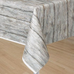Tablecover Rustic Wood Pattern