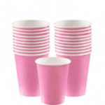 Cups 266ml Pastel Pink