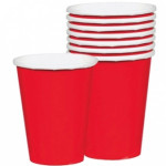 Cups 266ml Apple Red