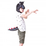 Childrens Dragon Hood & Tail