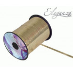 5mm Holographic Ribbon Gold