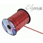 5mm Holographic Ribbon Red