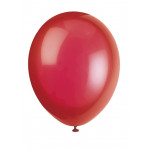 10 Scarlet Red Balloons