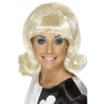 60s Flick-Up Wig Blonde