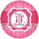 AH Perfectly Pink 13th