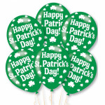 Balloons St Patricks Day