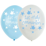 Balloons Communion Blue