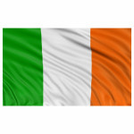 5ft x 3ft Irish Flag