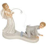 Cake Topper Bride Fishing