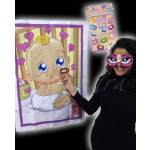 Pin the Dummy on the Baby Game