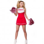 Adult Cheerleader Red