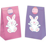 12 PAPER EASTER TREAT BAGS