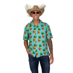 Adult Hawaiian Shirt Pineapple
