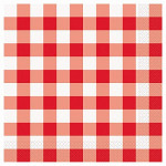 Lunch Napkins Red Gingham