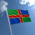5ft x 3ft  Lincolnshire Flag
