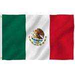 5ft x 3ft Mexican Flag