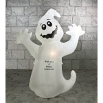1.2m Inflatable White Ghost